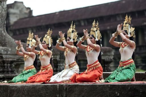 "The Royal Ballet of Cambodia, or ""Apsara Dance"""