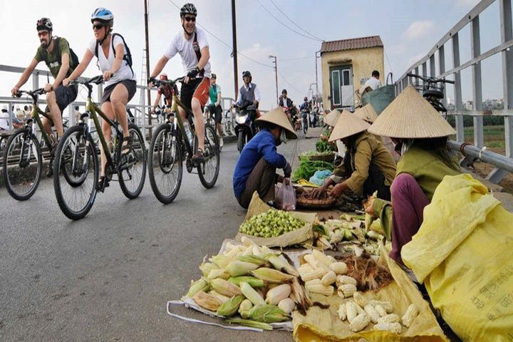 Private Cycling From Hanoi To Bat Trang Ceramic Village Full Day Tour