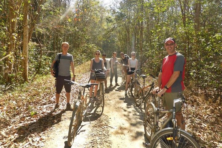 2-Days Ho Chi Minh City Cycling To Nam Cat Tien Tour