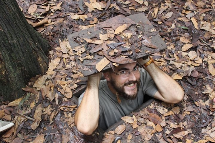 Vip Cu Chi Tunnels Half Day Group Tour