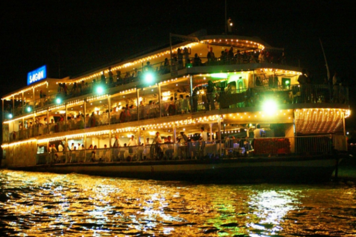 Small Group Ho Chi Minh City By Night With Traditional Dinner Cruise
