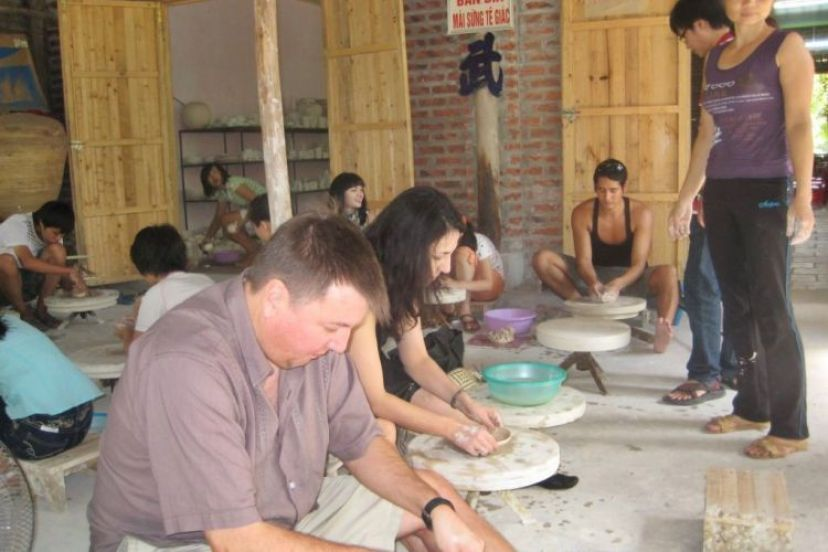 Cycle From Hanoi To Bat Trang Ceramic Village In Just One Day