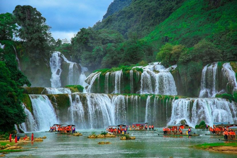 Ban Gioc Water Fall (Cao Bang Province) – The Hidden Heaven In Vietnam
