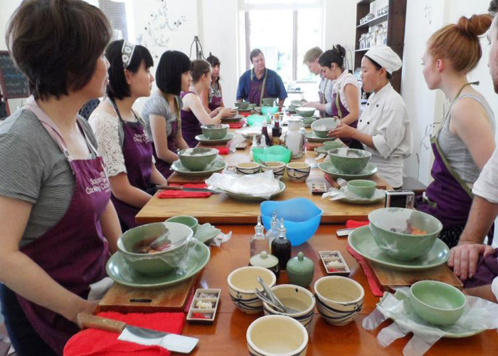 Half-day cooking class tour in Ho Chi Minh city