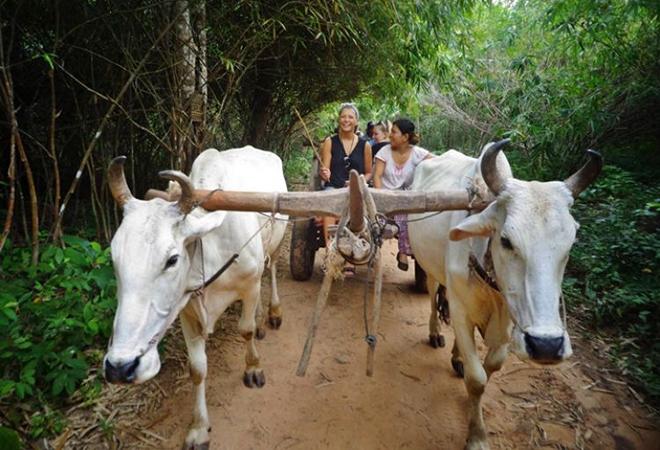 Siem Reap village private tour