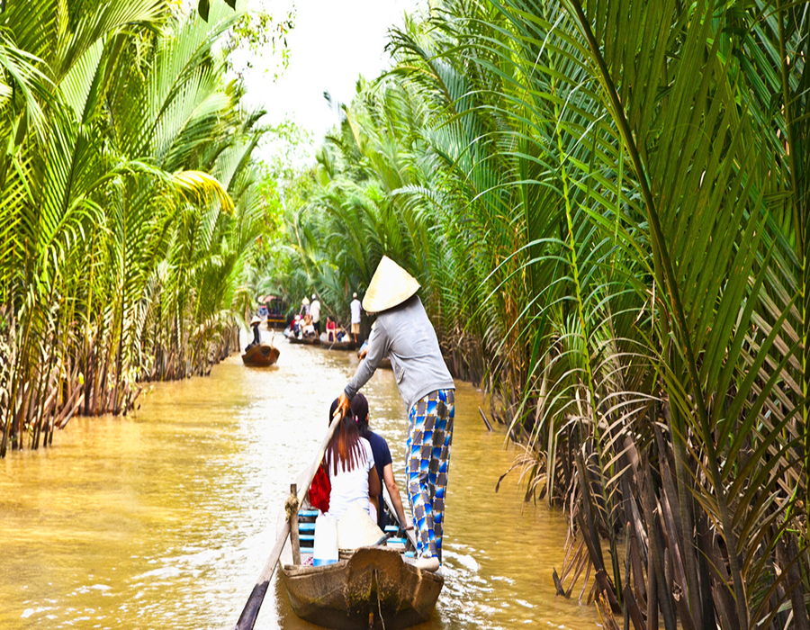 Mekong Delta and Cai Be floating market tour