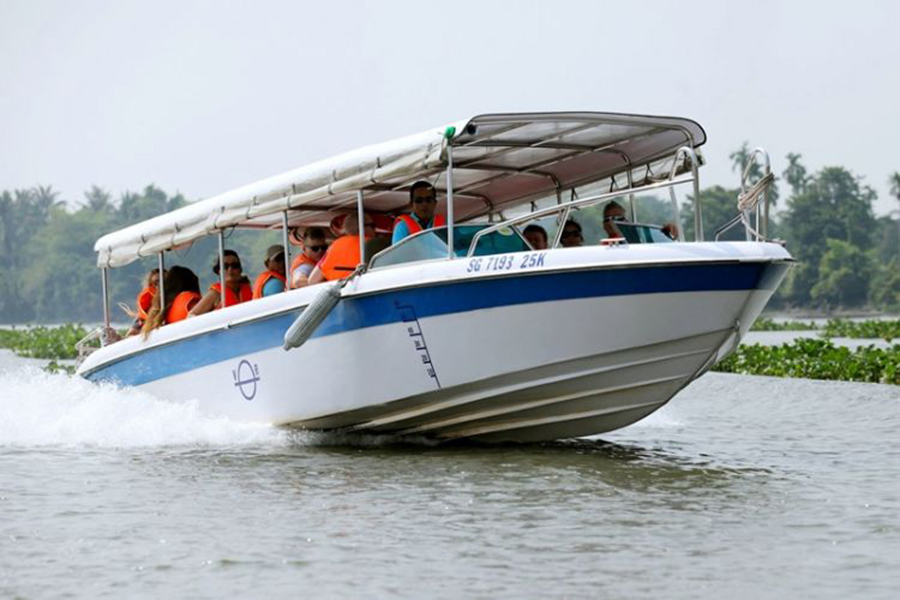 Cu Chi Tunnels boat and bus tour