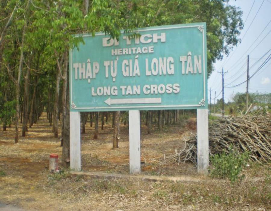 Long Tan - Australian base tour
